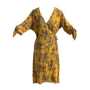 🔥3/$25 | Ardene | printed wrap dress